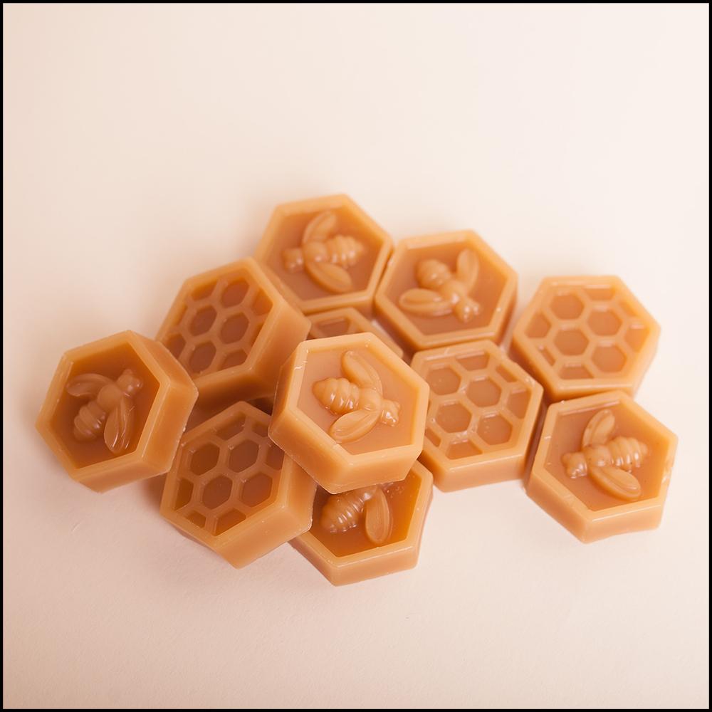 Cire d'abeilles bio 4 losanges