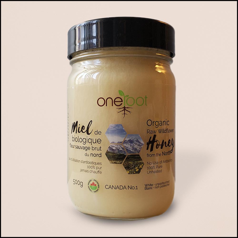 Organic Wild Flowers Honey